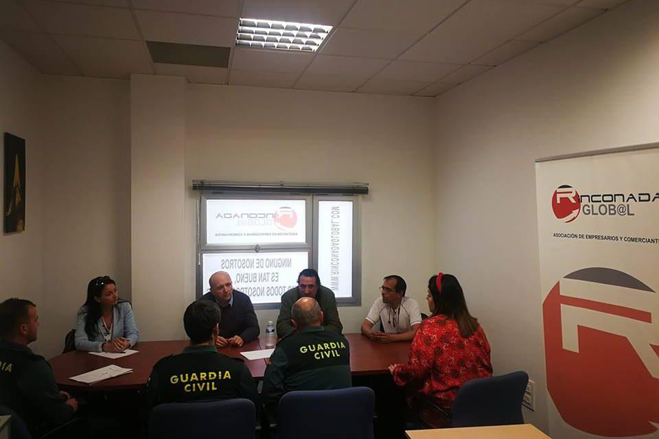 REUNIÓN CON LA GUARDIA CIVIL DE LA RINCONADA